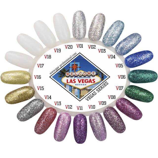 Гель лаки GGA Professional Vegas