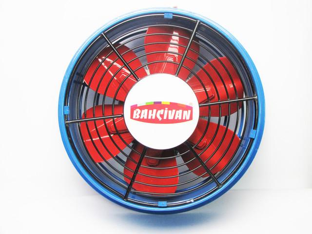 Приточный осевой вентилятор промышленный