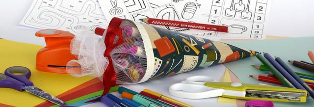 Товары для творчества (дыроколы, бумага, стразы)