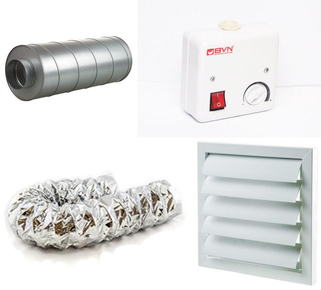 Аксессуары и принадлежности для систем вентиляции